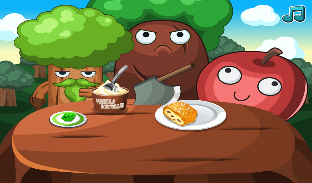 Apple Strudel - Cooking Games- screenshot