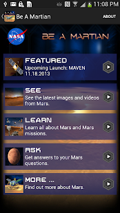 NASA Be A Martian - screenshot thumbnail