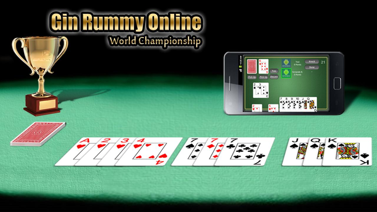 gin rummy online free game