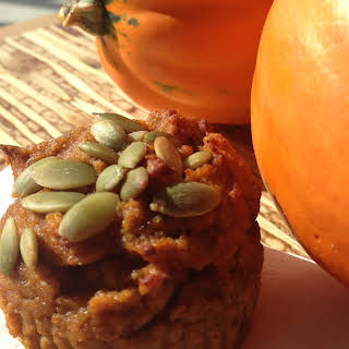 Paleo Pumpkin Pie Muffin.