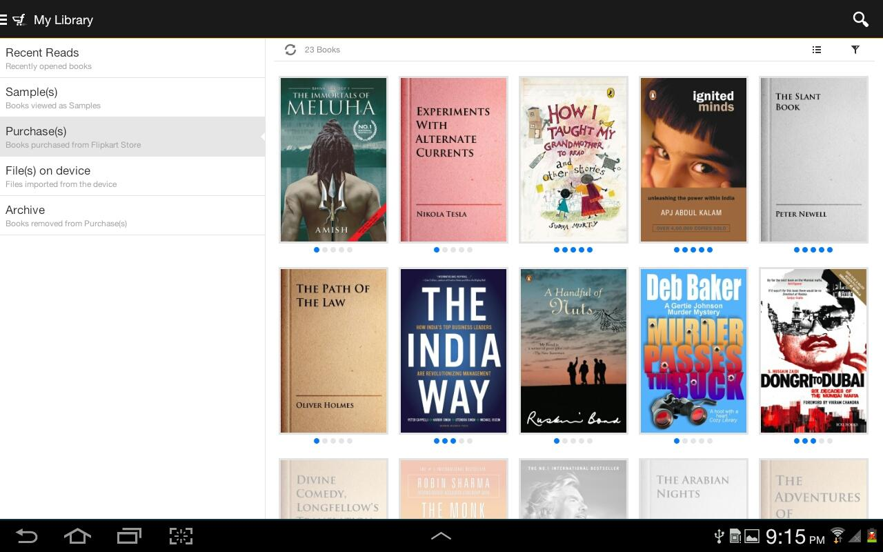 Flipkart eBooks - screenshot