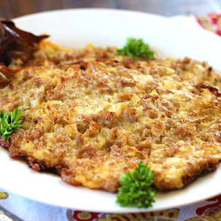 Tortang Talong with Giniling or eggplant Ground Pork Omelet