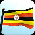 Uganda Drapeau 3D Gratuit icon