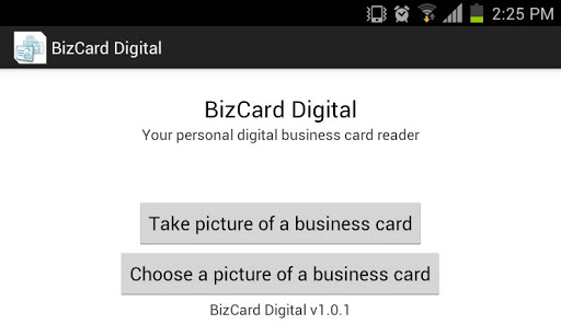 BizCard Digital