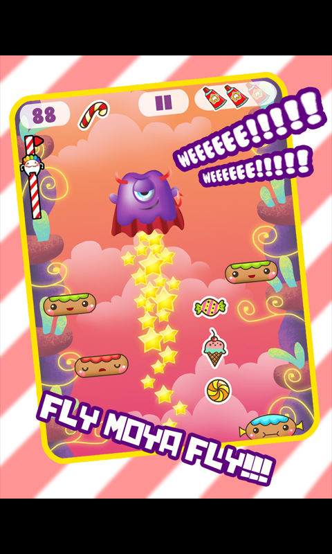 CandyMoyaJump - screenshot