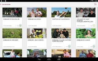 Screenshot of Guide des Vins de Montpellier