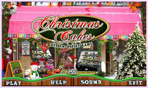 Christmas Cakes Hidden Objects