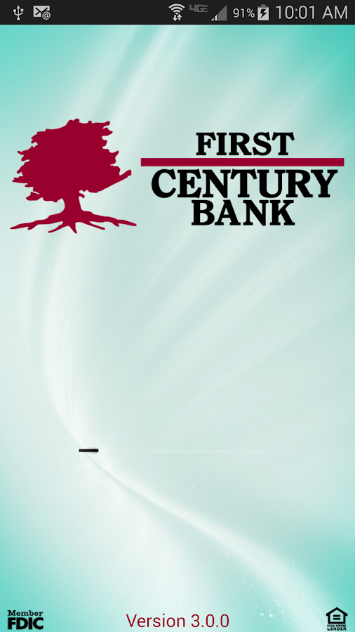 how to create online banking id first century bank