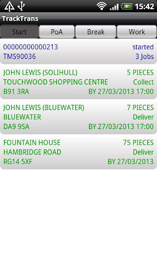 TrackTrans Proof of Delivery