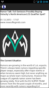 eSport News- screenshot thumbnail