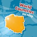 Länder Standort Karten Quiz icon