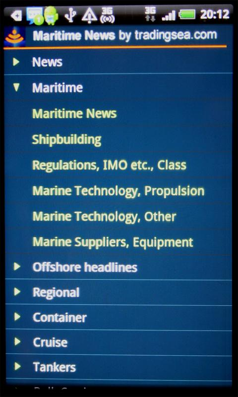 Maritime News - Free Version- screenshot