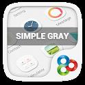 Simple Gray GO Launcher Theme icon