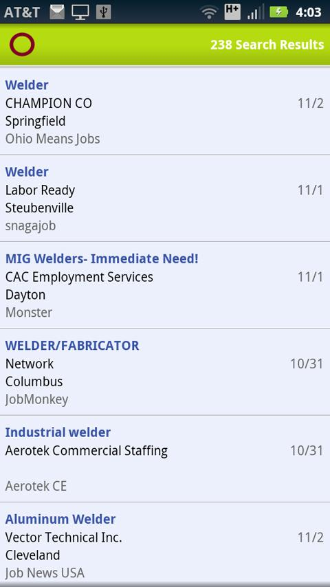 OhioMeansJobs - screenshot
