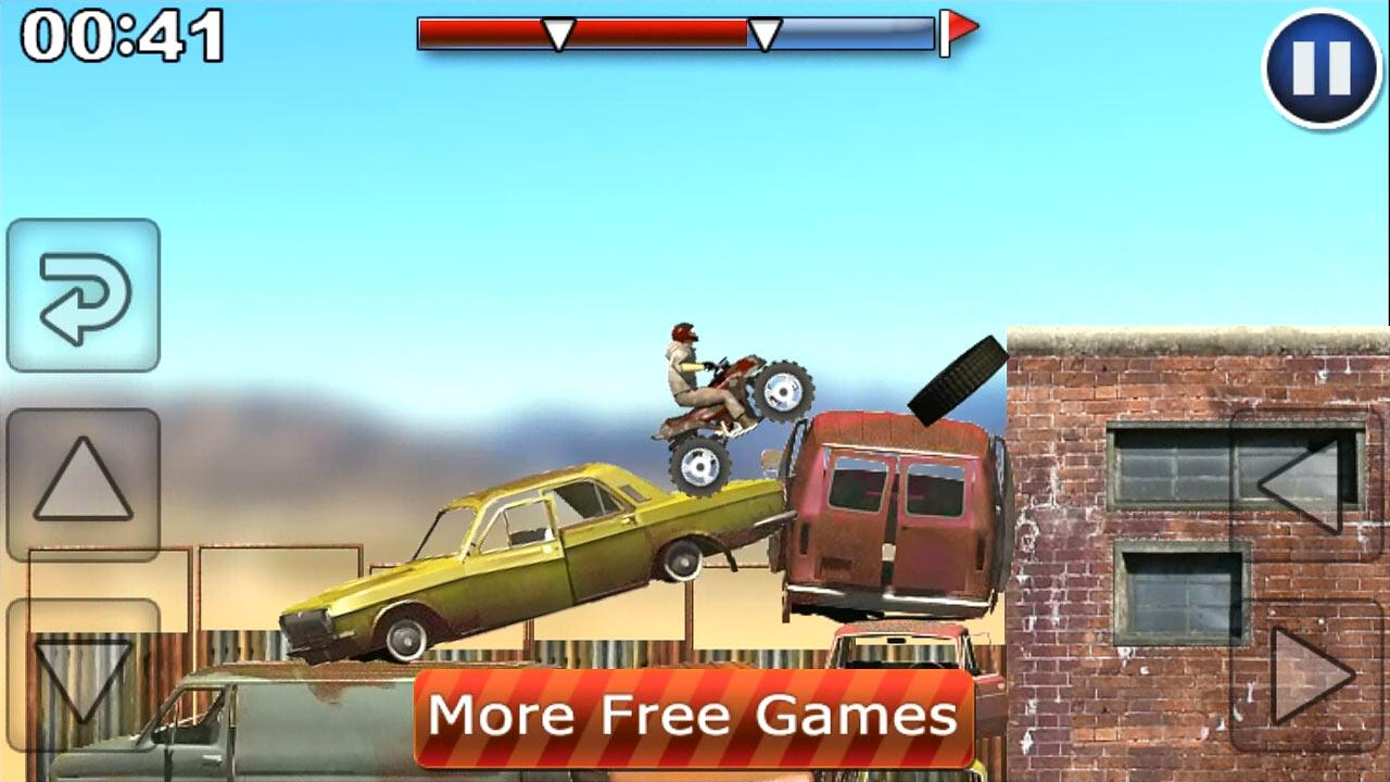 Desert Motocross Free - screenshot