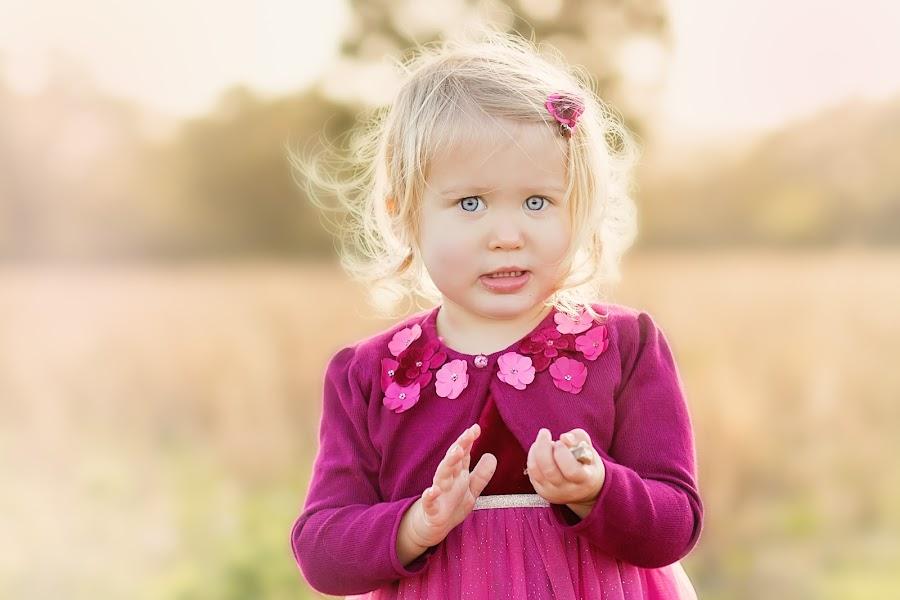 Ice Blue Eyes by Beth Cripps - Babies & Children Child Portraits