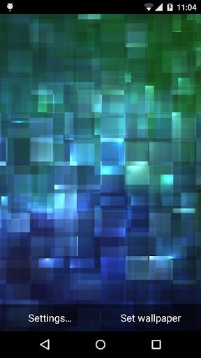 Crystalline Live Wallpaper