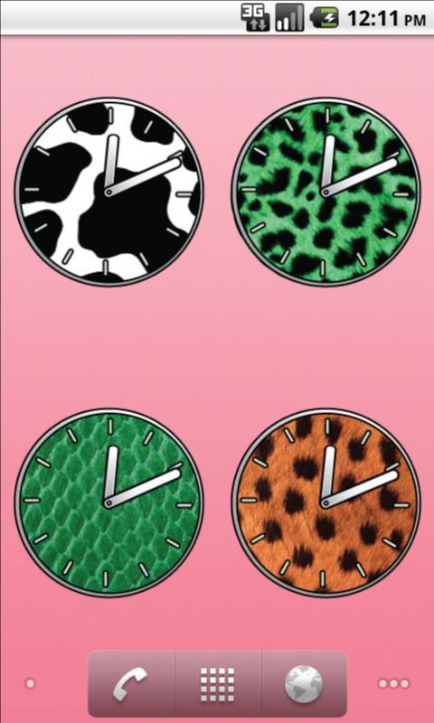 Animal Clocks - FREE- screenshot