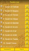 Screenshot of MP3 Quran