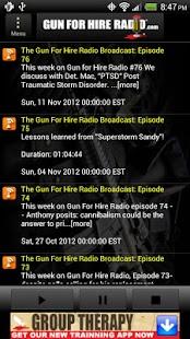 Gun For Hire Radio - screenshot thumbnail