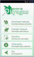 Screenshot of Detector de Pragas