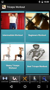 Men's Triceps Workout - screenshot thumbnail