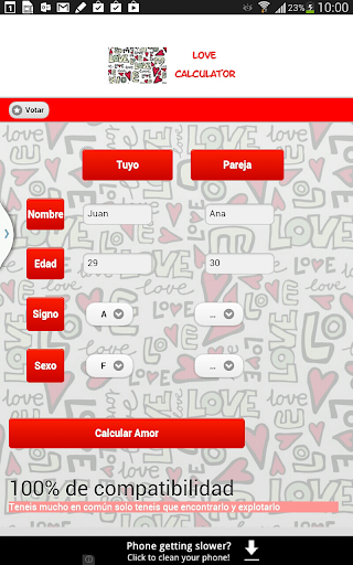 【免費娛樂App】Calculadora del amor-APP點子