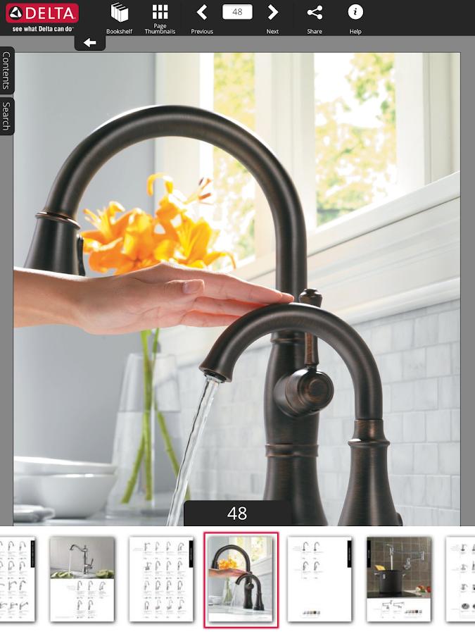 Delta Faucet Catalogs - screenshot