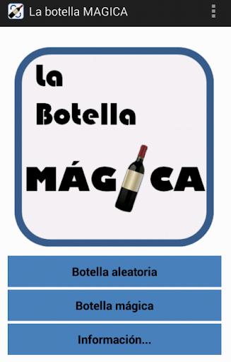 La botella MAGICA