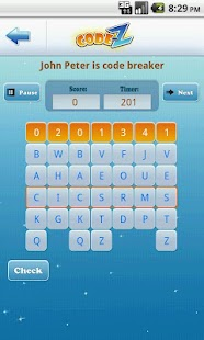 Code-Z: Word Puzzle Game- screenshot thumbnail