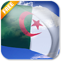 3D Algeria Flag Live Wallpaper