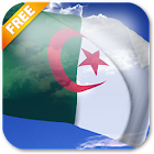 3D Algeria Flag Live Wallpaper icon