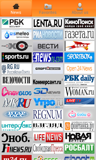 Russian Newspapers.