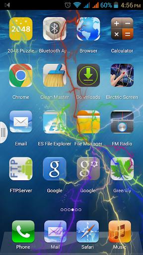 Electric Screen Wallpaper