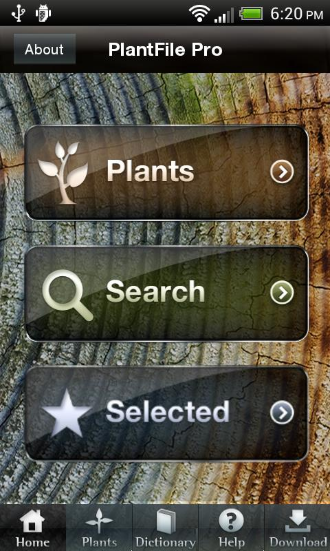 PlantFile Pro - screenshot