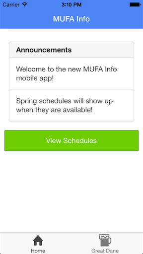 MUFA Info