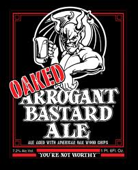 Logo of OAKED Arrogant Bastard Ale