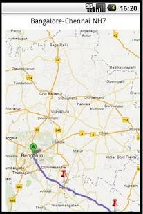 Bangalore-Chennai NH- screenshot thumbnail