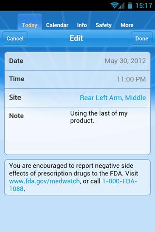 myBETAapp™- screenshot