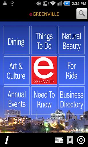 eGreenville Destination GVL
