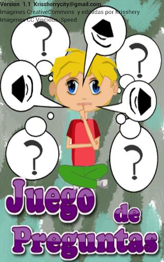 Juego de Preguntas para niños