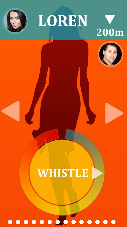 WhistleMe - screenshot