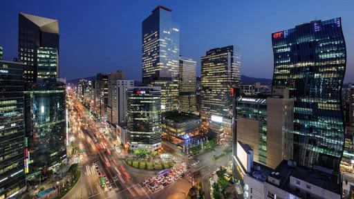 Seoul timelapse Live Wallpaper