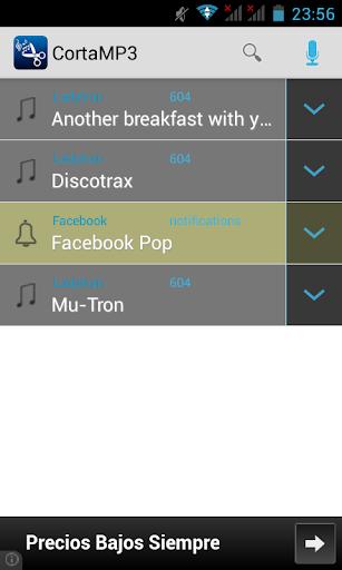 CortaMP3 Cortar Canciones MP3