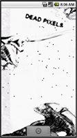 Screenshot of Dead pixels live wallpaper
