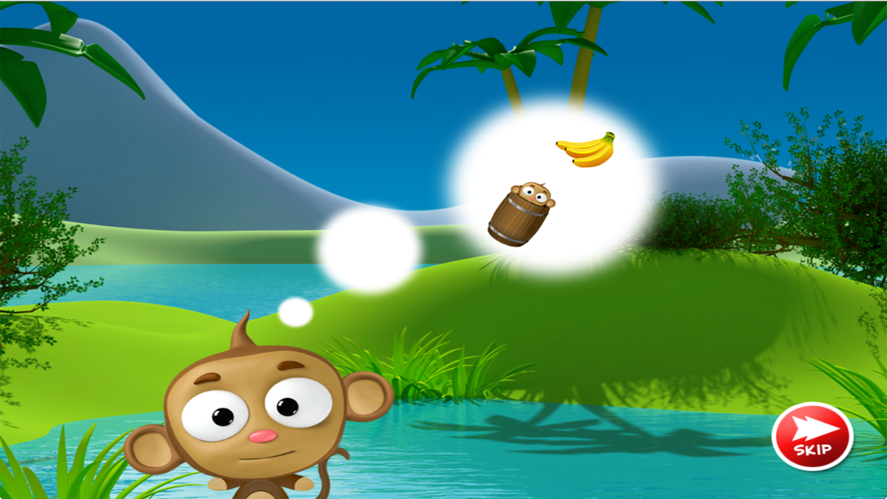 Monkey Barrel Game - screenshot
