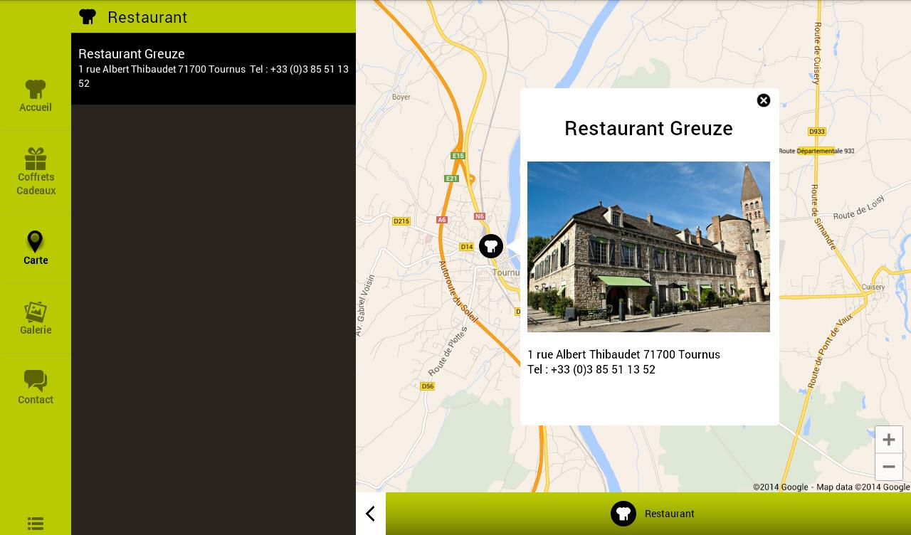 Restaurant Greuze- screenshot