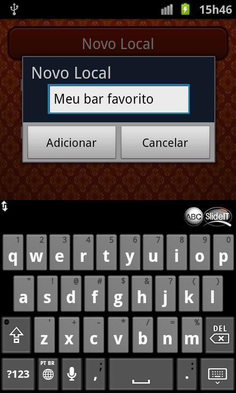 Papo De Bar: captura de tela