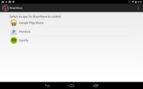 BrainWave Music Control Screenshot 12