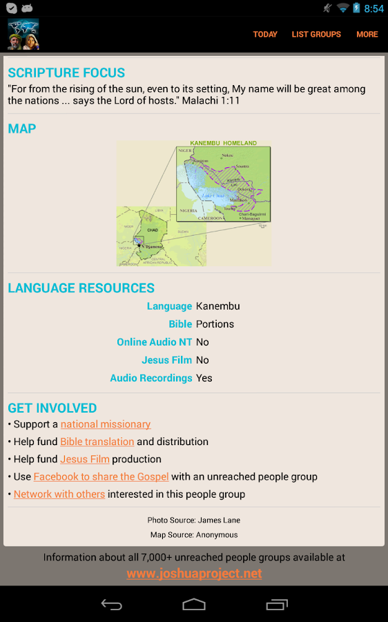 Unreached of the Day - screenshot